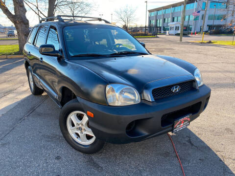 2002 Hyundai Santa Fe for sale at JerseyMotorsInc.com in Teterboro NJ