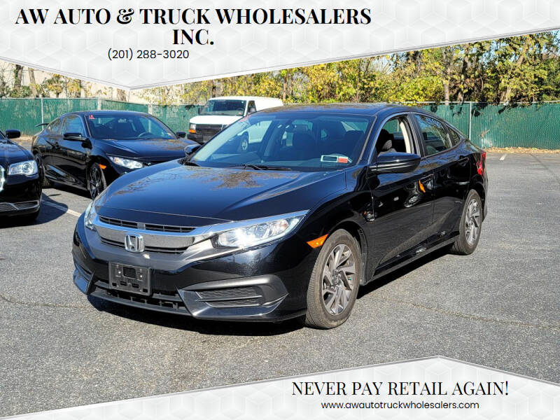 2017 Honda Civic for sale at AW Auto & Truck Wholesalers  Inc. in Hasbrouck Heights NJ