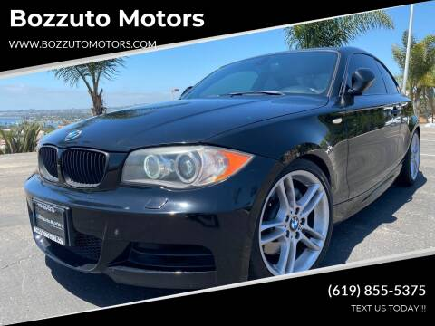2011 BMW 1 Series for sale at Bozzuto Motors in San Diego CA