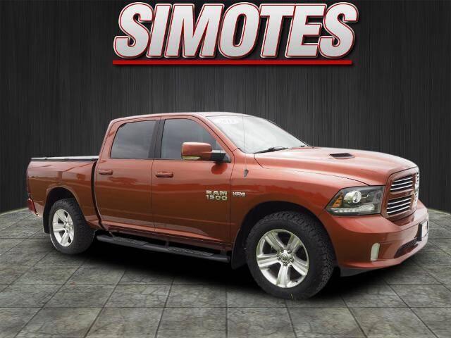 2013 RAM Ram Pickup 1500 for sale at SIMOTES MOTORS in Minooka IL