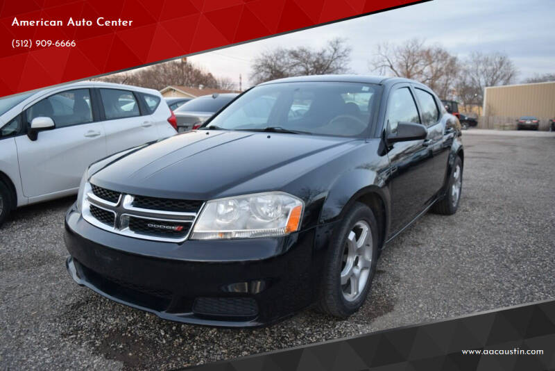 2014 Dodge Avenger for sale at American Auto Center in Austin TX