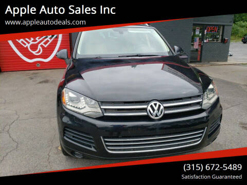 2011 Volkswagen Touareg for sale at Apple Auto Sales Inc in Camillus NY
