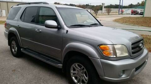 2004 Toyota Sequoia for sale at Haigler Motors Inc in Tyler TX