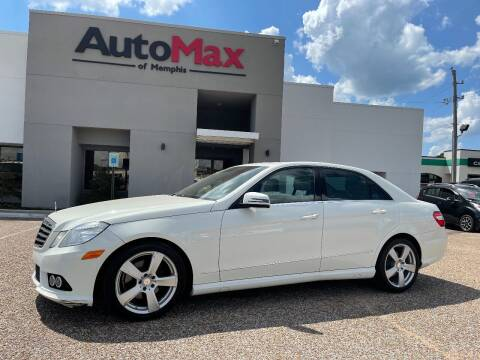 2010 Mercedes-Benz E-Class for sale at AutoMax of Memphis - V Brothers in Memphis TN