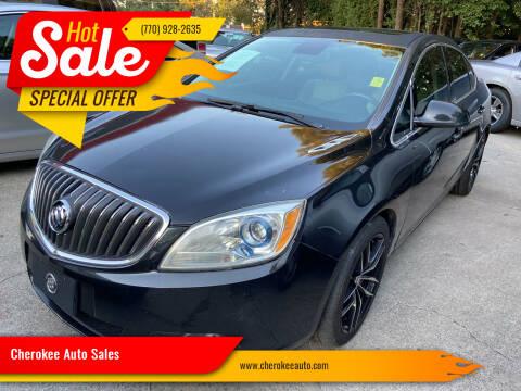 2013 Buick Verano for sale at Cherokee Auto Sales in Acworth GA