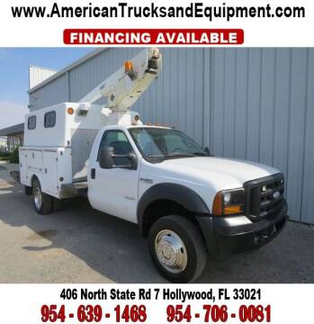 2006 Ford F-450 Super Duty for sale at American Trucks and Equipment in Hollywood FL