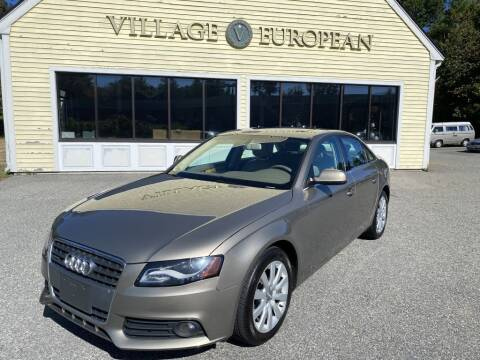 2010 Audi A4 for sale at Village European in Concord MA