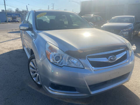 2012 Subaru Legacy for sale at Unique Auto Group in Indianapolis IN