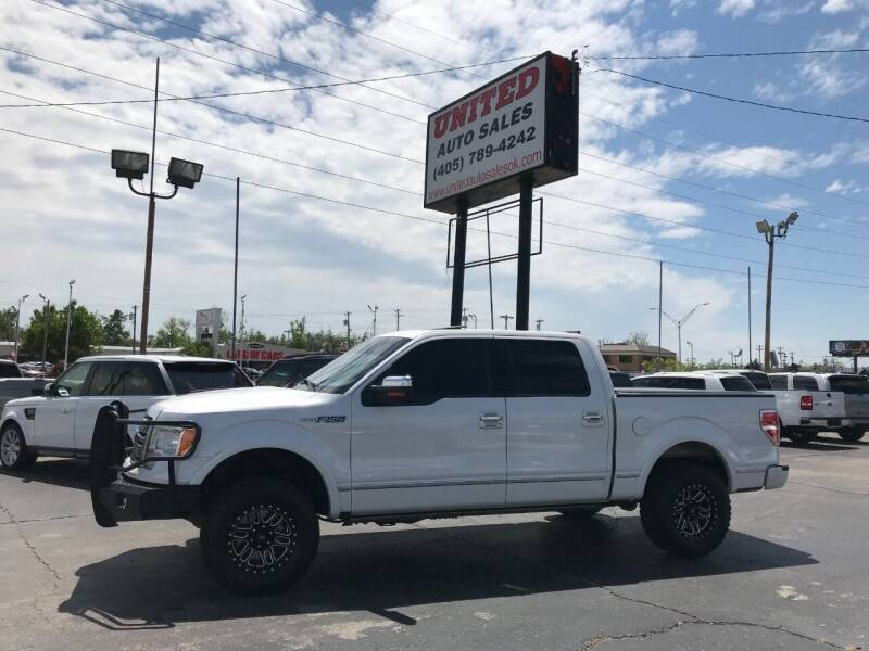2012 Ford F-150 for sale at United Auto Sales in Oklahoma City OK