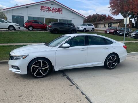 2018 Honda Accord for sale at Efkamp Auto Sales LLC in Des Moines IA
