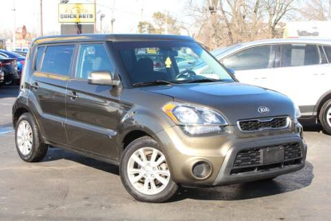 2012 Kia Soul for sale at Dynamics Auto Sale in Highland IN