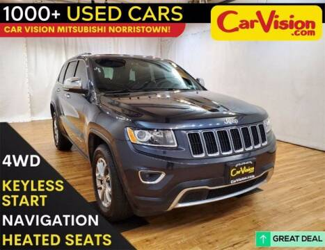 2016 Jeep Grand Cherokee for sale at Car Vision Buying Center in Norristown PA