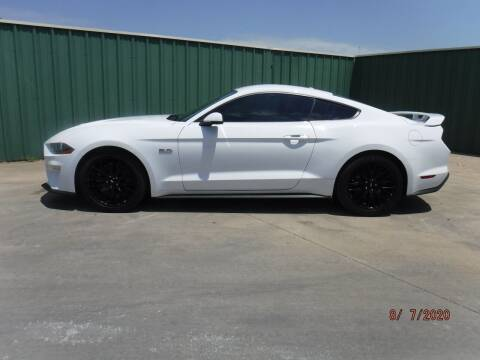 2018 Ford Mustang for sale at Triple C Auto Sales in Gainesville TX