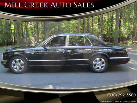 2001 Bentley Arnage for sale at Mill Creek Auto Sales in Youngstown OH