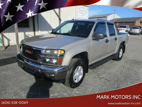 2007 GMC Canyon for sale at Mark Motors Inc in Gray KY