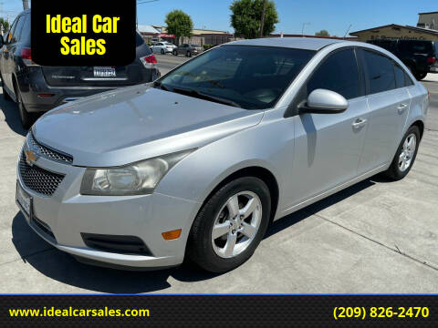 2012 Chevrolet Cruze for sale at Ideal Car Sales in Los Banos CA