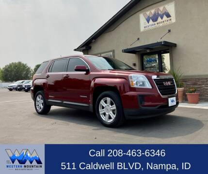 2016 GMC Terrain for sale at Western Mountain Bus & Auto Sales in Nampa ID