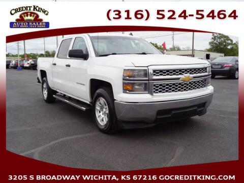 2014 Chevrolet Silverado 1500 for sale at Credit King Auto Sales in Wichita KS