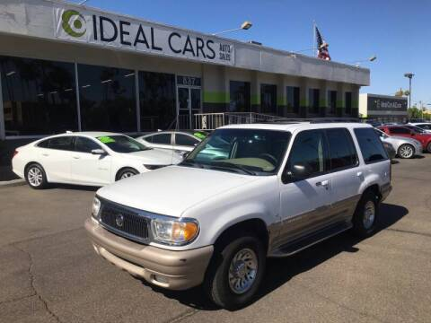 2000 Mercury Mountaineer for sale at Ideal Cars in Mesa AZ