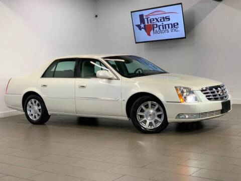 2009 Cadillac DTS for sale at Texas Prime Motors in Houston TX