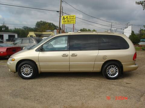 2000 Chrysler Town and Country for sale at A-1 Auto Sales in Conroe TX