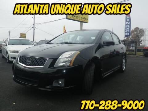 2011 Nissan Sentra for sale at Atlanta Unique Auto Sales in Norcross GA