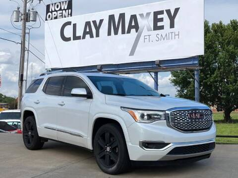 2017 GMC Acadia for sale at Clay Maxey Fort Smith in Fort Smith AR