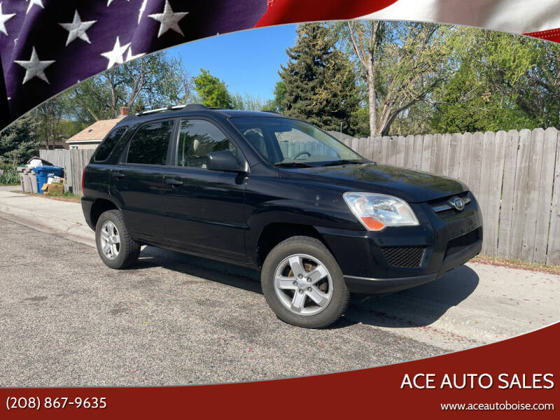 2010 Kia Sportage for sale at Ace Auto Sales in Boise ID