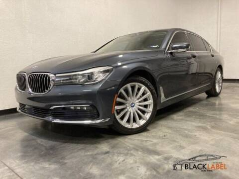 2016 BMW 7 Series for sale at BLACK LABEL AUTO FIRM in Riverside CA