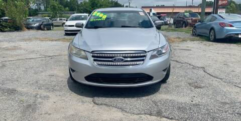 2014 Ford Taurus for sale at Auto Mart in North Charleston SC