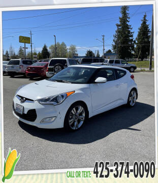 2013 Hyundai Veloster for sale at Corn Motors in Everett WA