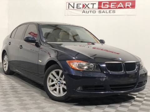 2007 BMW 3 Series for sale at Next Gear Auto Sales in Westfield IN