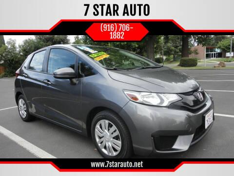 2015 Honda Fit for sale at 7 STAR AUTO in Sacramento CA