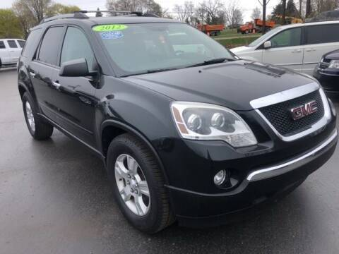 2012 GMC Acadia for sale at Newcombs Auto Sales in Auburn Hills MI