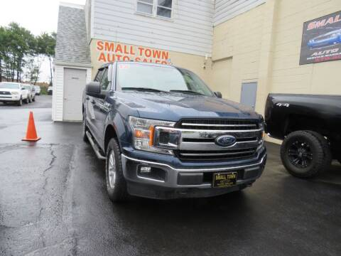 2018 Ford F-150 for sale at Small Town Auto Sales in Hazleton PA