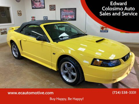 2002 Ford Mustang for sale at Edward Colosimo Auto Sales and Service in Evans City PA
