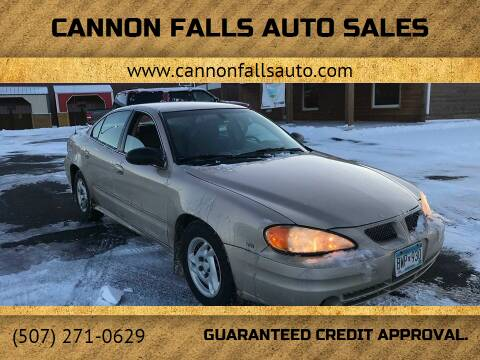 2005 Pontiac Grand Am for sale at Cannon Falls Auto Sales in Cannon Falls MN