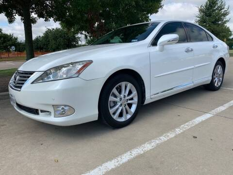 2012 Lexus ES 350 for sale at Driveline Auto Solution, LLC in Wylie TX