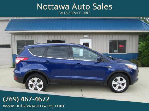 2014 Ford Escape for sale at Nottawa Auto Sales in Nottawa MI