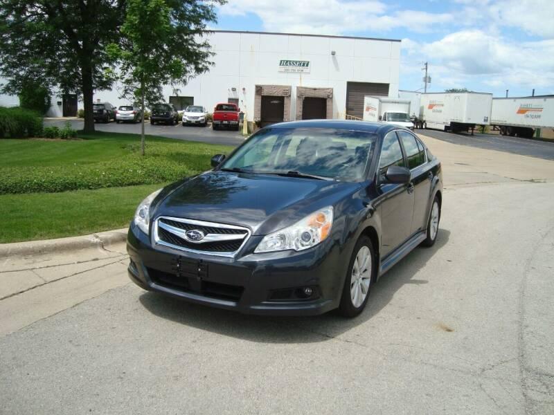 2012 Subaru Legacy for sale at ARIANA MOTORS INC in Addison IL
