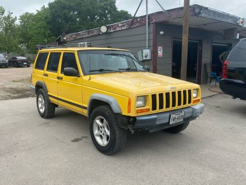 2000 Jeep Cherokee for sale at Texas Luxury Auto in Houston TX