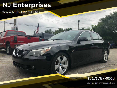 2005 BMW 5 Series for sale at NJ Enterprises in Indianapolis IN