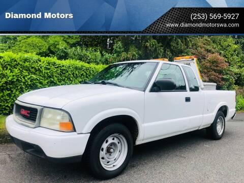 2001 GMC Sonoma for sale at Diamond Motors in Lakewood WA