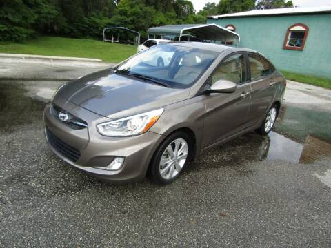 2014 Hyundai Accent for sale at S & T Motors in Hernando FL