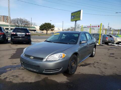 2009 Chevrolet Impala for sale at Friendly Auto Sales in Detroit MI