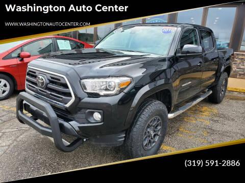2018 Toyota Tacoma for sale at Washington Auto Center in Washington IA