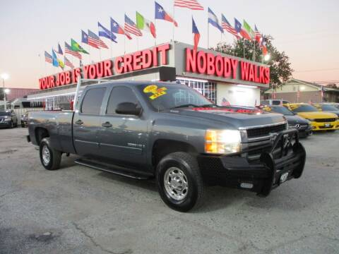2008 Chevrolet Silverado 2500HD for sale at Giant Auto Mart 2 in Houston TX
