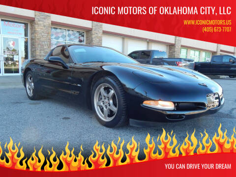 2004 Chevrolet Corvette for sale at Iconic Motors of Oklahoma City, LLC in Oklahoma City OK