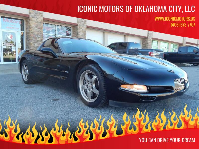 2004 Chevrolet Corvette for sale at Iconic Motors of Oklahoma City, LLC in Oklahoma City OK