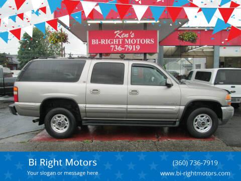 2000 GMC Yukon XL for sale at Bi Right Motors in Centralia WA